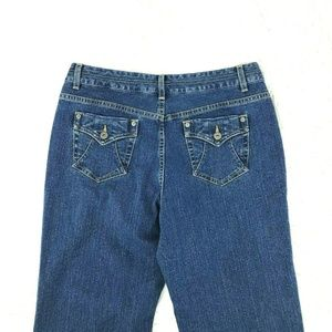 NEW Christopher Banks Boot Jeans Sz 10 X 31 In Z6